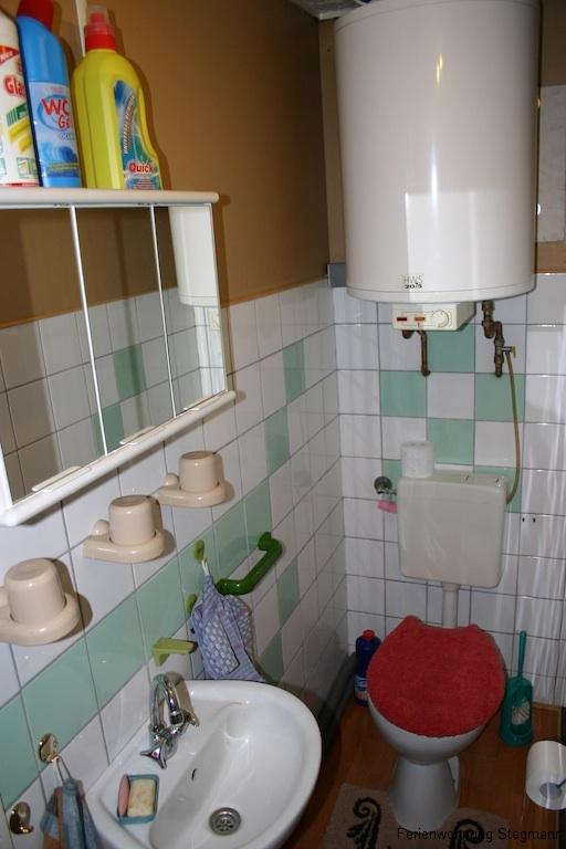 Kleine Wohnung  Bad